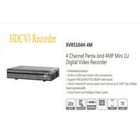 Wholesale dvr channels dahua - DAHUA 4 Channel Penta-brid 4MP Mini 1U Digital Video Recorder Without Logo XVR5104H-4M