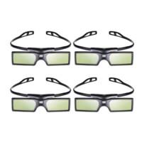 enlaces de soporte al por mayor-4pcs / lot G15 DLP Link Gafas 3D Obturador activo para Optoma Sharp LG Acer BenQ Acer Dell Vivitek DLP-LINK DLP Link Proyectores