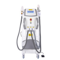 professional stationary multifunction q switched ipl laser rf face lift tattoo hair removal machine elight opt shr rf nd yag laser ipl