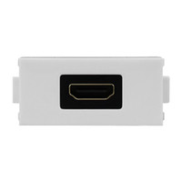 kısa hdmi toptan satış-86 Duvar Plakası Panel için Beyaz Kısa HDMI Ev Aksesuarları LY-024 Dirsek HDMI Soket LY-022 HDMI Modülü