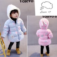 Wholesale old fashioned clothes for kids for sale - Group buy Autumn Winter Girls jackets fashion Dot Clothing coat baby girl winter warm and casual Outerwear for years old Kids jackets