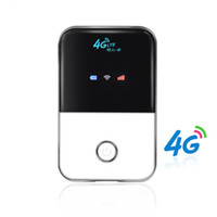 Wholesale 4g modems - 4G Hotspot Unlocked Mobile portable Wifi router Pocket Wireless Car Mifi modem with sim card slot