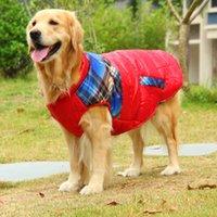 ingrosso giacca di husky-Big Dog Coat Large Dog Clothes Inverno Samoye golden retriever Husky Hound Shepherd Dog Jacket Costume