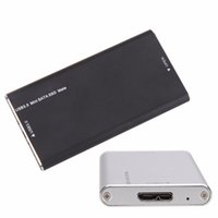 Wholesale rate data - Super Speed External Aluminum alloy mSATA SSD to USB 3.0 Converter Adapter HDD Enclosure Up To 6Gbs Data Transfer Rate