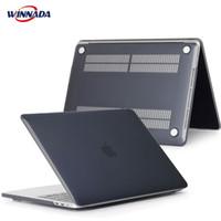 neues luftbuch großhandel-Laptop Tasche für MacBook Hülle für MacBook Air Pro Retina 11 12 13 15 MacBook New Pro 13 15 Zoll mit Touch Bar