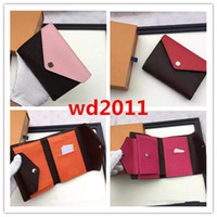 top quality women man with box rmulticolor short wallet Card holder classic pocket