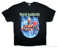 ingrosso fumo nero-Iron Maiden Smoke Circle Tour 2012 Mens Black Ed Mummy T Shirt Nuovo ufficiale