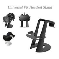 universal 3d vr al por mayor-Soporte universal de montaje en auriculares VR para HTC Vive Playstation VR Oculus Rift Soporte desmontable de pantalla 3D Gafas Organizador