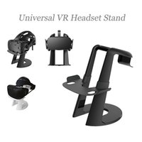 vr rift großhandel-Universal VR Headset Halterung für HTC Vive Playstation VR Oculus Rift Abnehmbarer Displayhalter 3D Glasses Organizer
