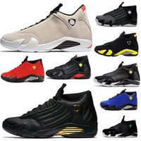 Wholesale yellow sand - basketball shoes 14 mens Trainers red yellow Green white Desert Sand DMP black Cool Grey mens sneakers sport shoes size 8-13