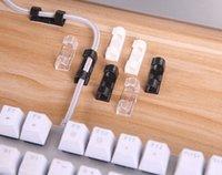 rangement de câble achat en gros de-3 couleur câble enrouleur clip bureau ordonné organisateur fil cordon plomb usb chargeur cordon titulaire organisateur titulaire