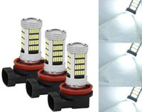 Wholesale h11 bulb bright for sale - Group buy 4x H11 H8 SMD LED Fog Light Super Bright White Car Foglight Bulb V