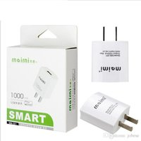Wholesale Machine For Phones - 306 intelligent machine mobile phone charger 301 for Apple charger Andrews millet 1A charge head batch