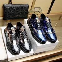 manuelle schuhe großhandel-2018year New fashion luxury brand erweiterte manuelle freizeit sneaker größe 38 ~ 45, Die staubbeutel + Schuh box