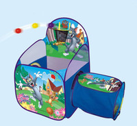 Wholesale Quality Communications - Early childhood toys,good quality,parent-child communication,interactive game,cartoon pattern,ocean ball pool,children tent