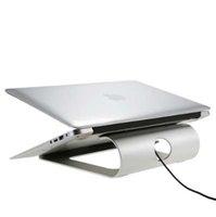 suporte para smartphone para mesa de trabalho venda por atacado-Design Ergonômico Alumínio Laptop Suporte de Mesa Doca Titular Bracket Pad Suporte para iPad / iPhone / Notebook / Tablet / PC / Smartphone Stand