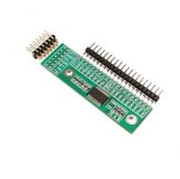 yo abordo al por mayor-¡Envío gratis! 1pc / lot MCP23017 Interfaz I2C 16bit I / O Módulo de ampliación Pin Board IIC a GIPO Convertidor Fuente de alimentación del convertidor para Arduino