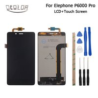 ingrosso telefono cellulare-ocolor per Elephone p6000 Pro Display LCD + Touch Screen Screen Digitizer Assembly di ricambio per Elephone p6000 Pro Cell Phone