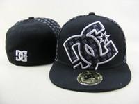 sombreros de ala para la venta al por mayor-Venta superior Houston dc Equipado gorras Béisbol Bordado Equipo Carta Ala plana Sombreros Béisbol Tallas Gorras Marcas Deportes Chapeu para hombres y mujeres