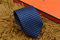 ingrosso regali americani-Cravatta europea e americana con top in seta con cravatta da regalo cravatta da lavoro da lavoro da 7,5 cm cravatta stretta