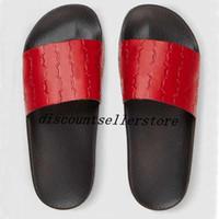 кожаные тапочки для мальчиков оптовых-2018 модная мужская и женская модная кожаная сандалия с сандалией на резиновой подошве для мальчиков и девочек, причинно-следственные пляжные тапочки