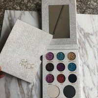 Wholesale more metallic - Newest Makeup 11 Colors Kelly Send me more nudes Eyeshadow Palette Girls Beauty Cosmetics Pressed Powder Eye Shadow Palettes