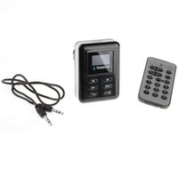 kit de dirección de coche al por mayor-Nuevo Bluetooth Car Kit MP3 Player FM Transmisor Volante USB SD MMC Card HOT