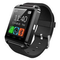 smartwatch u оптовых-Bluetooth Smart Watch U8 Smartwatch U Часы Для iOS iPhone Samsung Sony Huawei Xiaomi Телефоны на Android Хорошо, как GT08 DZ09