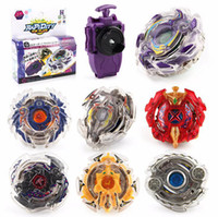 Wholesale top gifts for christmas kids - 4D Beyblade With Launcher Metal Fusion 4D Spinning Top Christmas Gift Puzzle Toys For Kids OOA4821