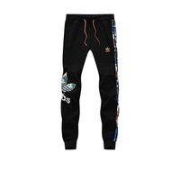ingrosso progettista più pantaloni di formato-Plus size L-5XL designer joggers da uomo nuovi pantaloni sportivi stampati a righe da uomo per uomo in cotone da uomo, pantaloni sportivi, spedizione gratuita