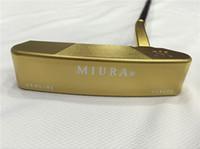 putter de golfe versa venda por atacado-Miura forjou taco de golfe Putter Miura Golf Clubes de golfe Miura 33/34/35 polegadas eixo de aço com tampa da cabeça