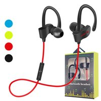 Wholesale waterproof bluetooth headphones mic for sale - Group buy New items S Wireless Bluetooth headphones Waterproof IPX5 Headphone Sport Running Headset Stereo Bass Earbuds Handsfree With Mic