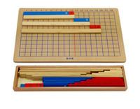 materiais montessori venda por atacado-Matemática Montessori Matemática Subtração Matemática Crianças Crianças Educacionais Matemática Contando Brinquedos