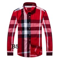 Wholesale Camisa Casual Slim Fit - 2017 Male Shirts Long Sleeve Men plaid Shirt Brand Clothing Camisa Slim Fit Camisa Social bubely Masculina Casual Chemise Homme