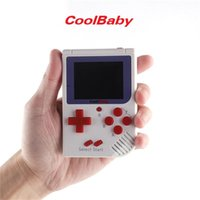 Wholesale 2.5 inch tv for sale - Group buy CoolBaby Mini Handheld Game Console Cool Baby RS Portable Retro Mini Games Consoles Inch Screen For FC Game Kids Birthday Gift