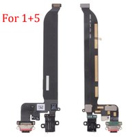 Wholesale Earphone Repair - New For Oneplus 1+ 5 Dock Connector USB Charge Charging Port + Earphone Jack Flex Cable For One Plus 5 A5000 Repair Parts Free Shipping