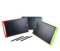 polegadas para crianças venda por atacado-Tablet LCD Escrita Digital Digital Portátil 8.5 Polegada Desenho Tablet Caligrafia Pads Placa Tablet Eletrônico para Adultos Crianças Crianças DHL