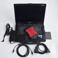 ingrosso ford vcm diagnostica obd2-VCM II 2 in 1 Strumento diagnostico per F-ord vcm2 IDS V106 e per M-azda V108 OBD2 Scanner con CF52 portatile