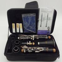 17 clarinete clave al por mayor-Yamaha Intermedio Estudiante Bb Clarinetes CL-255 17 Llave con Accesorios Modelo Profesional Estudiante Baquelita