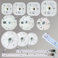 Wholesale board mounted - Ceiling Lights DIY LED Light Source PCB Board with driver 12W 18W 24W 5730 220V Driver for Round LED Panel Light