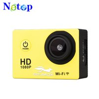 Wholesale mini dv full hd waterproof camera resale online - Netop For SJ4000 A9 style Inch LCD Screen mini Sports camera P Full HD Action Camera M Waterproof Camcorders Helmet sport DV