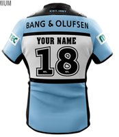 Wholesale Hero S - CRONULLA SHARKS 2018 HOME JERSEY 2017 Sharks Rugby Jersey NRL Hero Edition Rugby League Cronulla Sutherland Sharks Rugby size S-3XL