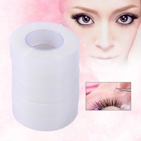 Wholesale eyelid makeup tools online - 25 Rolls False Eyelash Extension Tape Breathable Eyelid Tape Eye Lashes Makeup Tools maquiagem Cosmetics False fakes