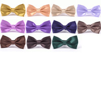 Wholesale korean groom - Candy Color Korean Style Bow Tie For Men Groom Wedding Party Multicolor Choose Leisure Tie Butterfly Cravat New Arrival 1 7mf Z