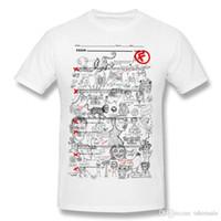 ingrosso direzioni di progettazione-T Shirt With Sayings uomo Dimenticato di studiare uomo T Shirt Cool Design stile college animali stampa tshirt per gli studenti.