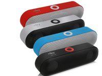 bluetooth drahtloser boombox großhandel-NBY-18 Mini Bluetooth Lautsprecher Tragbare drahtlose Lautsprecher Sound System 3D Surround Big Bass Stereo Boombox Musik Unterstützung Bluetooth TF AUX USB