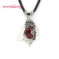 Wholesale Bean Pendant Necklace - Pendants Necklace Chain Jewelry For Women Red Bean Pod Accessories Metal Reiki Pendulum Amulet Fashion Decorations Gifts