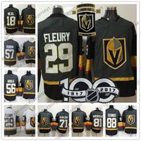 Wholesale Andre Blue - Mens Youth Womens #18 James Neal 29 Marc-Andre Fleury 71 William Karlsson Vegas Golden Knights Kids Gray White Inaugural Season 100th Jersey
