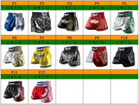 Wholesale Mma Fighting Shorts - PUGILIST boxer MMA short MUAY THAI SHORTS tiger FIGHT SHORTS Man boxing shorts