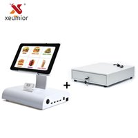 """Wholesale restaurant machines - 10"""" Android Tablet Machine System With Restaurant Software Built In 58mm Thermal Printer + Cash Drawer"""